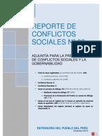 Reporte Defensoria del Pueblo - Diciembre 2010