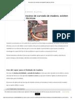 PROCESO DE CURVADO DE MADERA MANUAL EN PDF