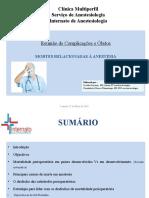 anesthesia mortality