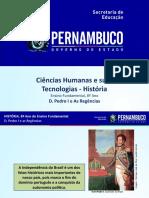 D. Pedro I e As Regências