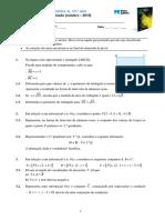 Proposta de teste de avaliação - 10.º ano