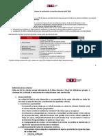 Sistema de Evaluacion e Incentivos Docente Abril 2020