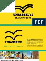Aula_Unidade 1_Sociologia Rural e Urbana