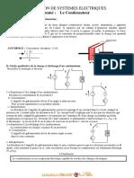 Cours - Sciences physiques Le Condensateur - Bac Technique (2011-2012) Mr saber messaoudi
