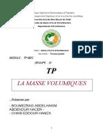 375629032 La Masse Volumique