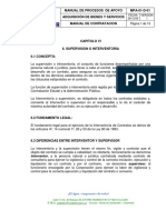MANUAL DE CONTRATACION CORPONOR - FUNCIONES SUPERVISION  O INTERVENTORIA