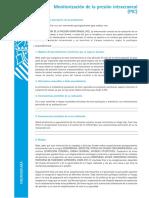 Monitorización de la presión intracraneal.pdf