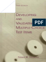 Thomas M. Haladyna - Developing and Validating Multiple-choice Test Items-Routledge (2004).pdf