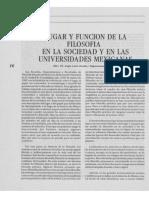 Dialnet-LugarYFuncionDeLaFilosofiaEnLaSociedadYEnLasUniver-6178675