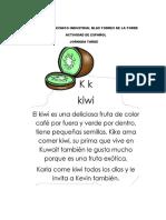 LECTURA COMPRENSIVA EL KIWI