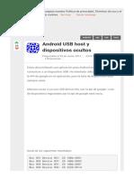 Android usb host y dispositivos ocultos