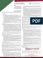 Convocatoria Manutencion Pue 2020