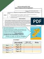 Guía de aprendizaje 1ro básico Matemática del 17 al 28 de agosto 2020