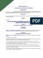 Ley de Impuestos sobre Timbres (Decreto 37-92)