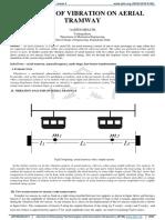 analysis of vibration on aerial tramway paper JETIR2004474