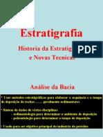 ESTRATIGRAFIA E NOVAS TECNICAS
