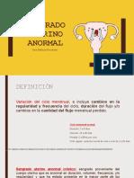 Sangrado uterino anormal