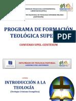 Programa de Formancion Teologica Superior CENTESUM