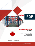 Recommendation Report Cakrawala Mega Indah PT BSA Warehouse (1)