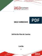 CARTILLA - DEFINICION PLAN DE CUENTAS
