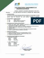 Protocolo de Operatividad y Mantenimiento de Tableros Electricos - Actualizado