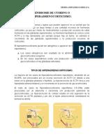 SÍNDROME DE CUSHING O HIPERADRENOCORTICISMO