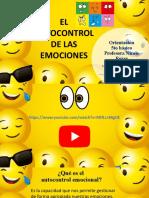 Orientación 1 de octubre el autocontrol de las emociones
