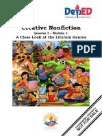 Creative Nonfiction Q1 M1