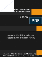 LESSON 5 CONTEMPORARY PHILIPPINE ARTS FROM THE REGIONS.pdf