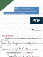 Integracion Metodo de Simpson