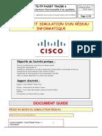 TD12 CISCO Packet Tracer - Mise en Place de VLAN Et de Routage Inter Vlan
