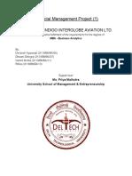 Financial Management Project 1