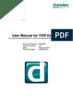 VDR Explorer, User Manual DBS00294-34