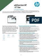 Fiche technique HP  Pagewide 477