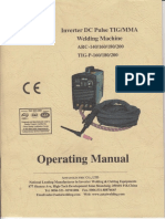 Aotai ARC TIG 140_160_180_200 Operating Manual