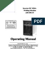 ARC400-3T Operating Manual