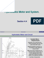 - 4.4 Hydrostatic Circuit