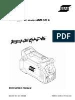 0463 415 101 GB (Renegade ES 300i - Manual)