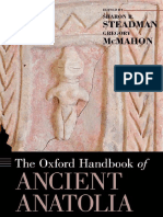 Sharon R. Steadman, John Gregory McMahon - The Oxford Handbook of Ancient Anatolia (10,000-323 BCE)-Oxford University Press (2011).pdf