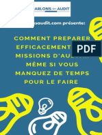Ebook partie 4- Préparer la mission d'audit
