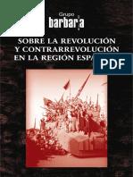Sobre la revolución y contrarrevolución en la región española