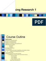 Nursing-Research-1-Overview