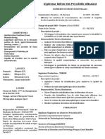CV Français Huyen Le