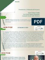 Eje 2 - Trabajo INDITEX Formulacion y Evaluacion de Proyectos