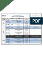 Grade Horária PPGP - 2019 - Mestrado