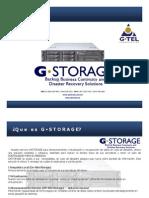 Presentacion GSTORAGE