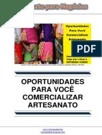 Oportunidades Para Voce Comercializar Artesanato