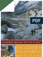 Wilderness Medicine Institute of NOLS