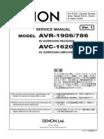 DENON AVR-1906 Service Manual.pdf