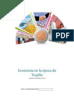 economía en el gobierno de Trujillo
